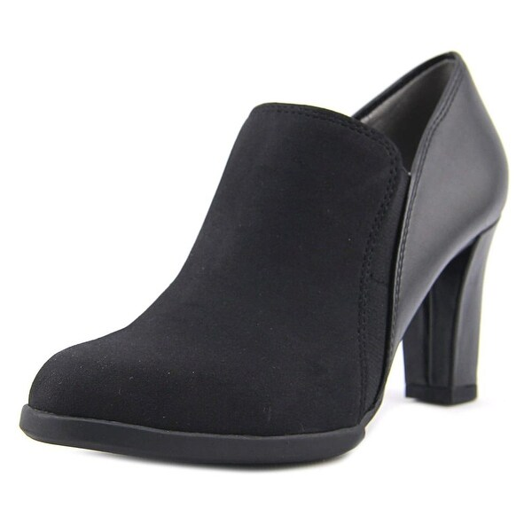 Life Stride Lexy Women W Round Toe Synthetic Black Bootie