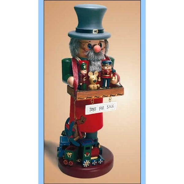 "14"" Zims Heirloom Collectibles Toy Vendor Christmas Nutcracker"