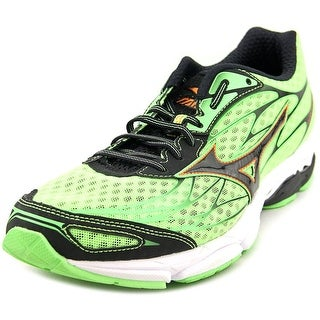 Mizuno Wave Catalyst Men Round Toe Synthetic Green Running Shoe