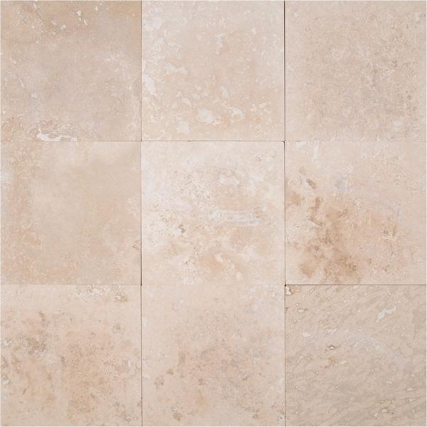 "MSI TTCLASLT1212HF Tuscany Classic - 12"" x 12"" Square Wall Tile - Honed Visual - Sold by Carton (10 SF/Carton) - Beige"