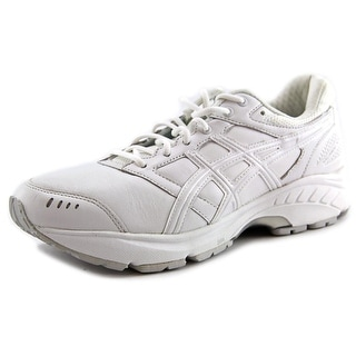 Asics Gel-Foundation Walker 3 Men Round Toe Leather White Walking Shoe