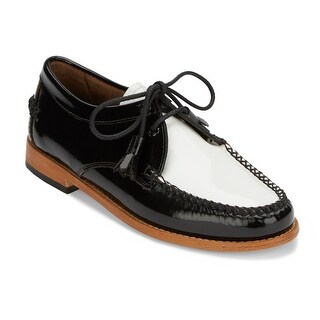 G.H. Bass & Co. Womens Winnie Leather Weejuns Oxford Shoe