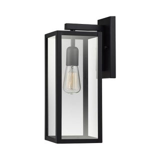 "Globe Electric 44176 Hurley Single Light 16"" Tall Outdoor Wall Sconce"