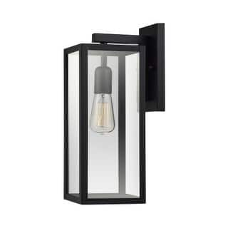 Outdoor wall lighting for less overstock globe electric 44176 hurley single light 16 tall outdoor wall sconce mozeypictures Image collections