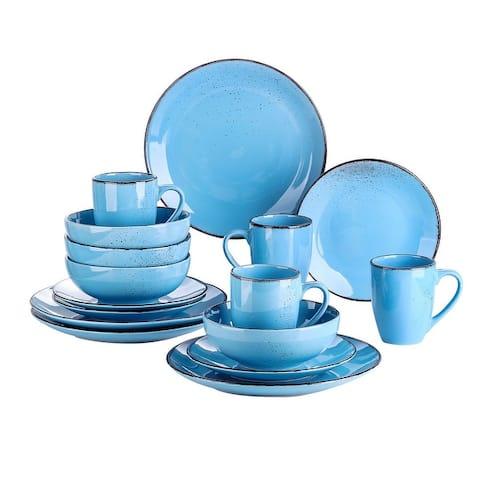 Vancasso Navia Distressed Vintage 16-piece Dinnerware Set