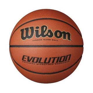 Wilson WTB0516R 29.5-Inch Evolution Indoor Game Basketball