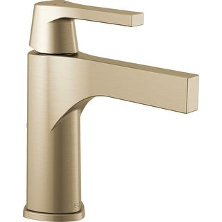 Delta 574-MPU-DST  Zura Single Hole Bathroom Faucet with Drain Assembly