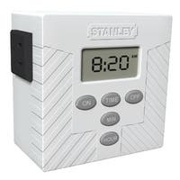 Stanley TimerMax Daily Twin 2-Outlet Daily Digital Timer