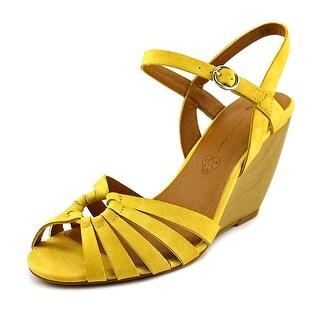BC Footwear Lil Bit Women Open Toe Synthetic Wedge Sandal