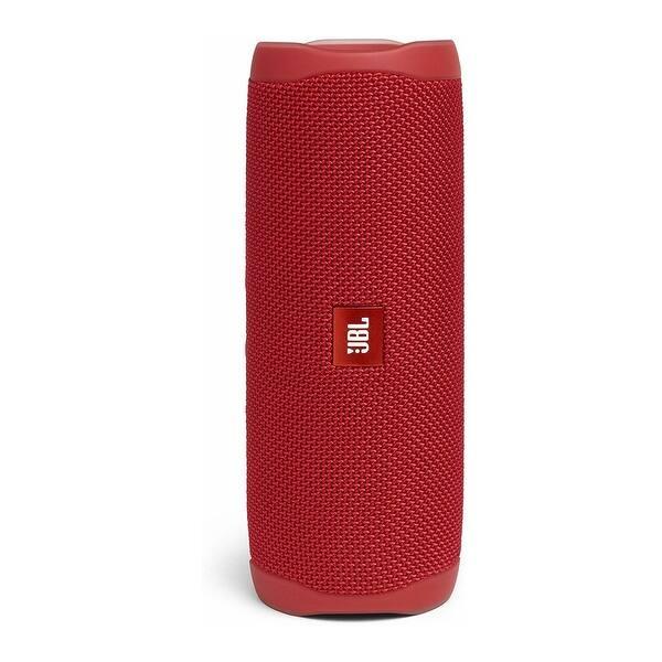 Shop Jbl Flip 5 Portable Waterproof Bluetooth Speaker Fiesta Red Overstock 30785927