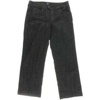 Jag Womens Juniors Denim Solid Trouser Jeans - 16