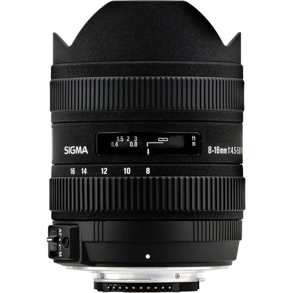 Sigma 8-16mm f/4.5-5.6 DC HSM Ultra-Wide Zoom Lens for Select Nikon DSLRs (International Model)