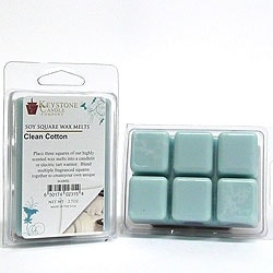 Clean Cotton Soy Tarts 3.5 in. long x 2.5 in. wide x 1 in. thick  Pack of 3