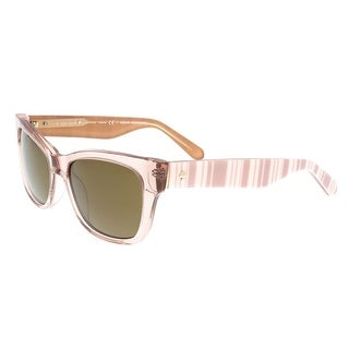 Kate Spade - Alora/P/S 0QGX Beige Square Sunglasses - 53-17-135