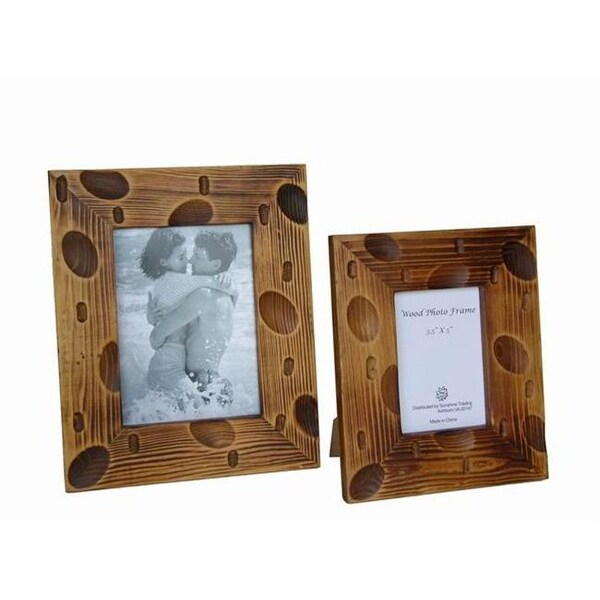 Sunshine Trading St 31 5 Handmade Wood Photo Frame 3 X Inch