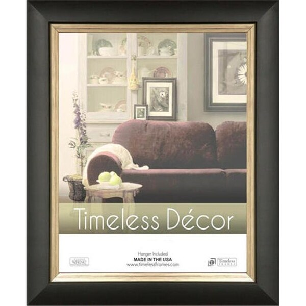 Shop Timeless Frames Michelangelo Black Silver Wall Frame 16 X 20
