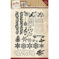 Holly Jolly - Find It Trading Yvonne Creations Clear Stamps