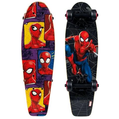 "PlayWheels Spider-Man 21"" Complete Skateboard"