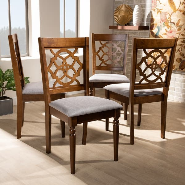 Lylah Modern And Contemporary 4 Piece Dining Chair Set On Sale Overstock 31227440