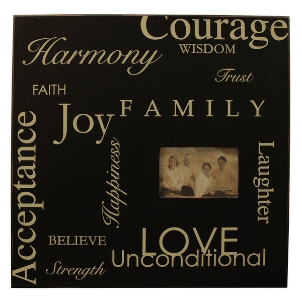 Word Collage 20x20 inch Photo Frame