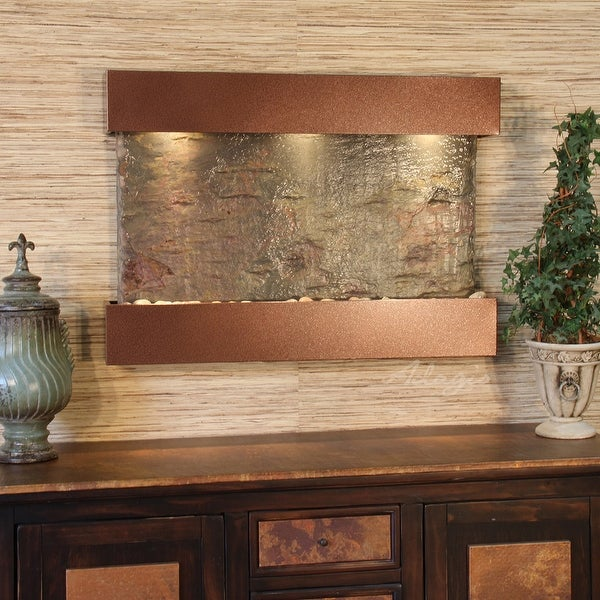 Adagio Reflection Creek Fountain with Woodland Brown Finish - Multiple Colors Available