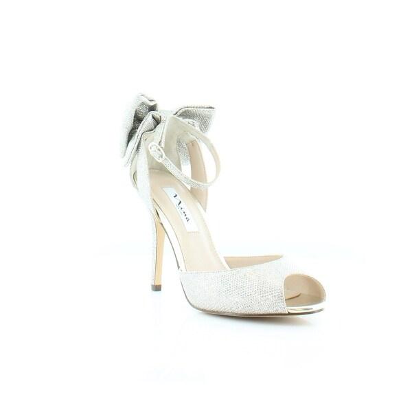 Nina Martina Women's Heels Soft Silver - 9