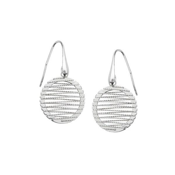 Wire Drop Earrings in Sterling SIlver