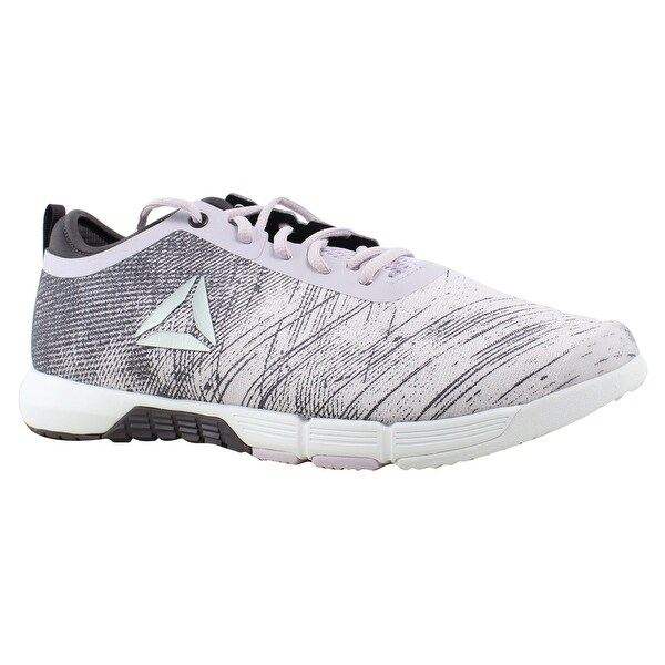 2df81936599d Reebok Womens Cn0997 Quartz SmokyVolcano White Silver Running Shoes Size 5