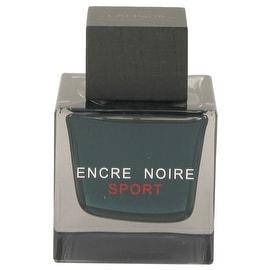 Encre Noire Sport by Lalique Eau De Toilette Spray (Tester) 3.3 oz - Men