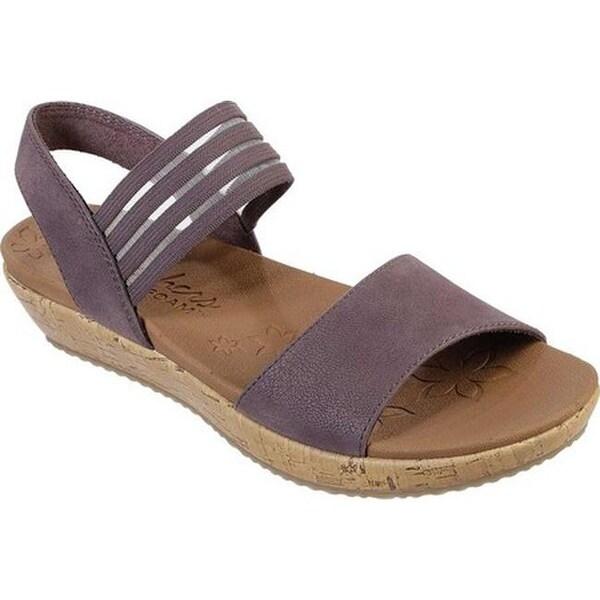 Shop Skechers Women S Brie Lo Profile Ankle Strap Sandal