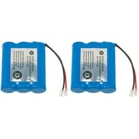 Replacement Battery 2422 (2 Pack) For AT&T, Panasonic, GE And VTech Cordless Phones