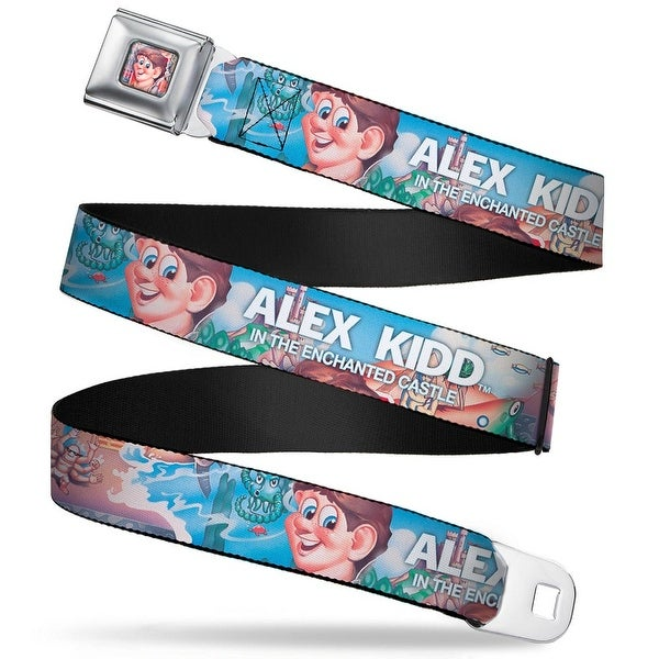 Sega Genesis Alex Kidd Enchanted Castle Face Full Color Alex Kidd In The Seatbelt Belt