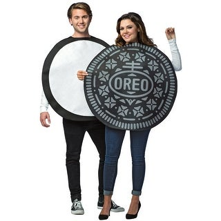 Rasta Imposta Oreo Couples Adult Costume - Black/White - One size