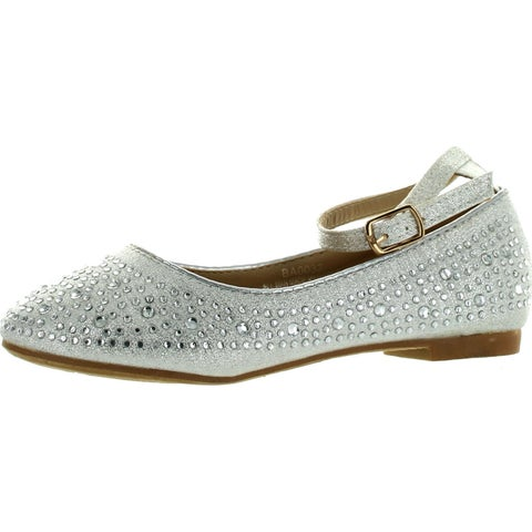 Adorababy Girls Ba0032 Dressy Fashion Flats Shoes