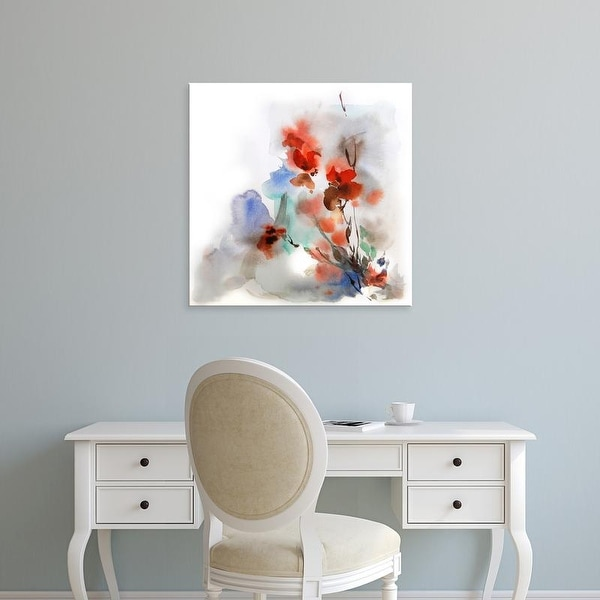 Easy Art Prints CanotStop's 'Fall Flowers' Premium Canvas Art