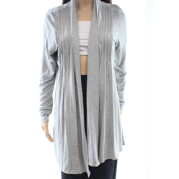 b6c3fff2d28 Shop NorthStyle NEW Gray Women s Size Large L Open Front Cardigan Sweater -  Free Shipping On Orders Over  45 - Overstock - 19472631