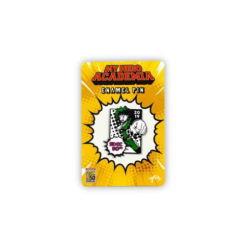 My Hero Academia Izuku Midoriya SDCC 2019 Exclusive 2-Inch Enamel Collector Pin - Green