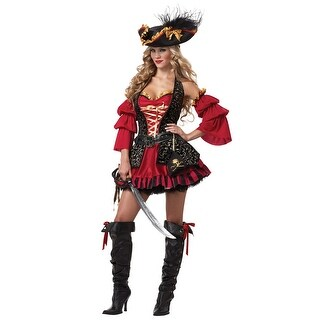 Sexy Plus Spanish Pirate Costume