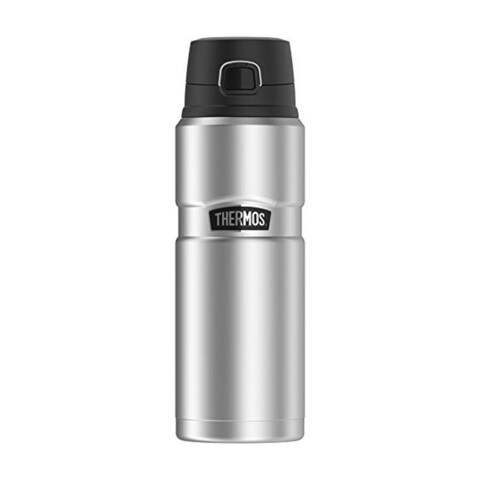 Thermos Stainless King Vacuum Insulated Drink Bottle (24 oz/ Stainless Steel)