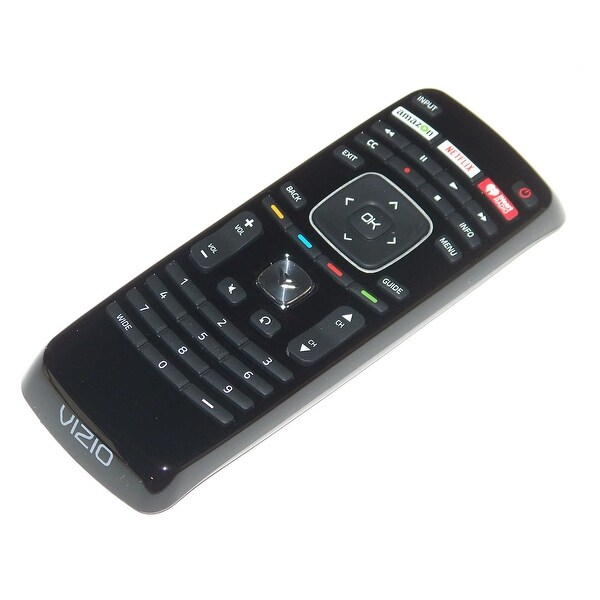 OEM Vizio Remote Control: E500DA0, E500D-A0, E500IA0, E500I-A0, E500IA1, E500I-A1, E500IB1, E500I-B1