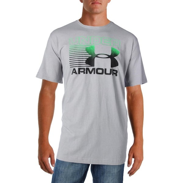 dae6204d1 Shop Under Armour Mens Graphic T-Shirt Heat Gear Loose Fit - 2XL - Free  Shipping On Orders Over $45 - Overstock - 22731669