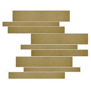 Miseno MT-G1SAND Horizontal Mosaic Wall Tile (10.92 SF / Carton)