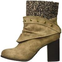 2 Lips Too Womens Lexia Closed Toe Ankle Fashion Boots