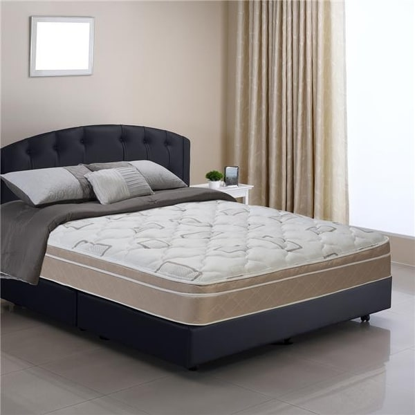 Shop Sleep Comfort Back Aid Pillow Top Mattress Full Size Free