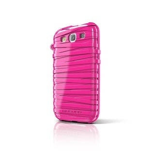 Musubo Rubber Band Case for Samsung Galaxy S3 (Pink)