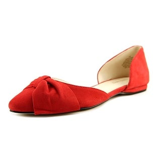 Nine West Stefany Pointed Toe Suede Flats