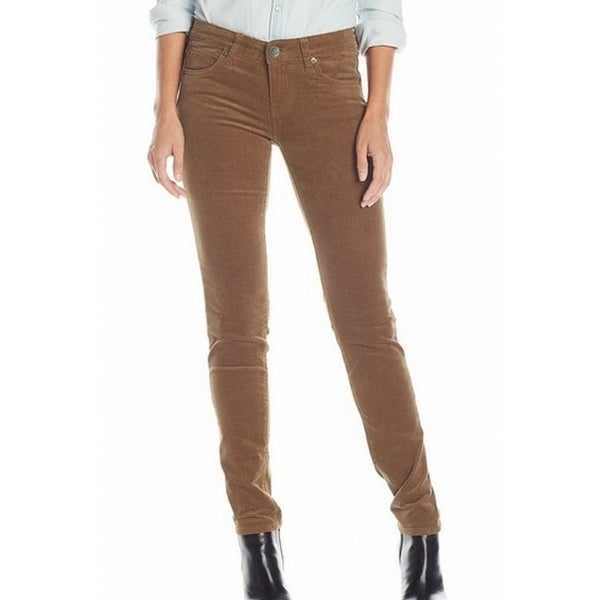 dfb9d05984a2 Kut From The Kloth NEW Brown Womens Size 6 Corduroys Diana Skinny Pants
