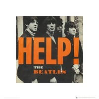 ''The Beatles: Help!'' by Anon Music Art Print (15.75 x 15.75 in.)