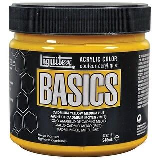 Liquitex - BASICS Acrylic Color - 32 oz. Jar - Cadmium Yellow Medium Hue