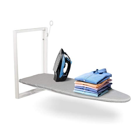 Ivation Wall-Mounted Ironing Board Compact 36.2 x 12.2 Ironing Station